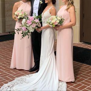 Bill Levkoff Blush Gown